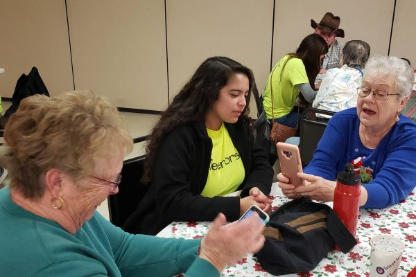 When Teens Share Tech Skills With Seniors, Both Can Feel More Connected   MindShift