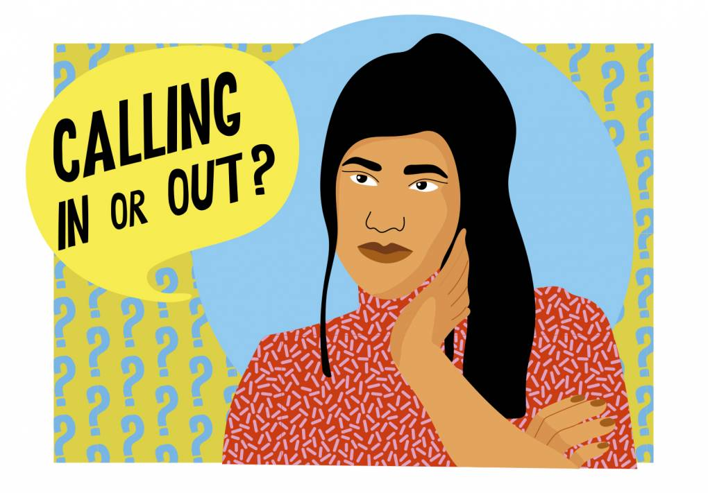 When to Call Someone Out or Call Them In Over Racist Behavior