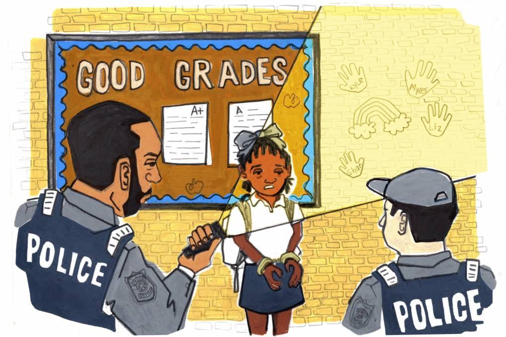 Why There's A Push To Get Police Out Of Schools