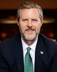 Falwell on leave from Liberty presidency
