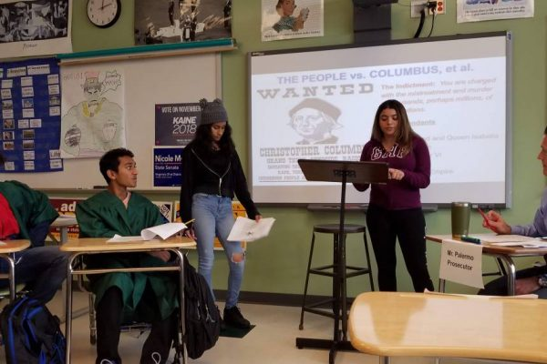 Learning About Christopher Columbus By Putting Him on Trial